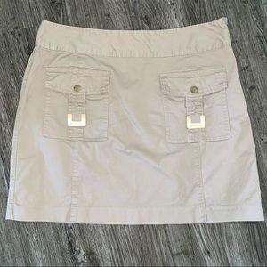 Michael Kors Khaki Skirt with Pockets 8